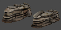Sandbag model for the mod DecadenceXXX